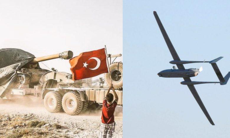 تركيا ترسل مدافع ثقيلة إلى إدلب