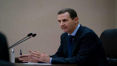 """صورة في أول كلمة له منذ تفشي """"كورونا"""".. بشار الأسد يتجاهل """"مخلوف"""" ويضع المواطن أمام خيارين إما المـ.ـرض أو الجـوع"""