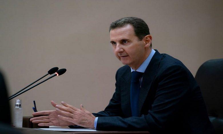 بشار الأسد يتجاهل مخلوف