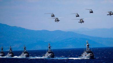 صورة هكذا ردت البحرية التركية على اليونان في بحر إيجة.. وأمريكا قد تتدخل في ليبيا لردع روسيا