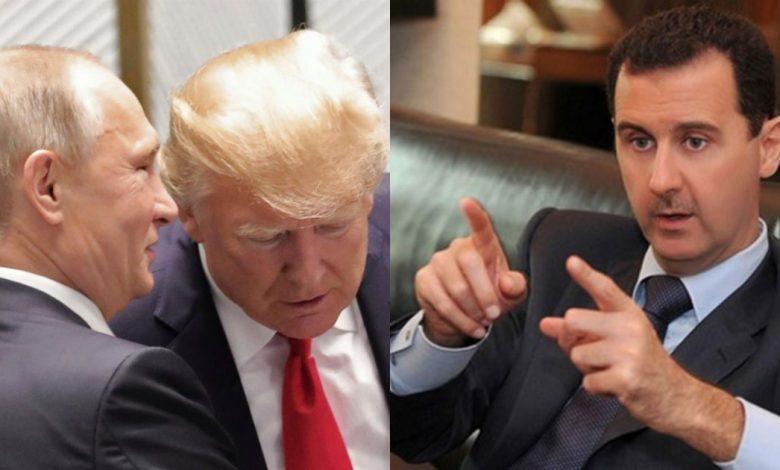مباحثات روسية أمريكية بشأن سوريا