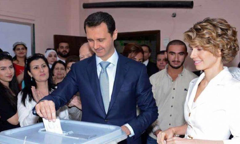 بشار الأسد وانتخابات الرئاسة