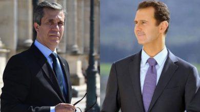 """صورة المرشح لرئاسة سوريا """"فهد المصري"""": بشار الأسد انتهى والوضع الآن أصبح مهيئاً لرحيله..!"""