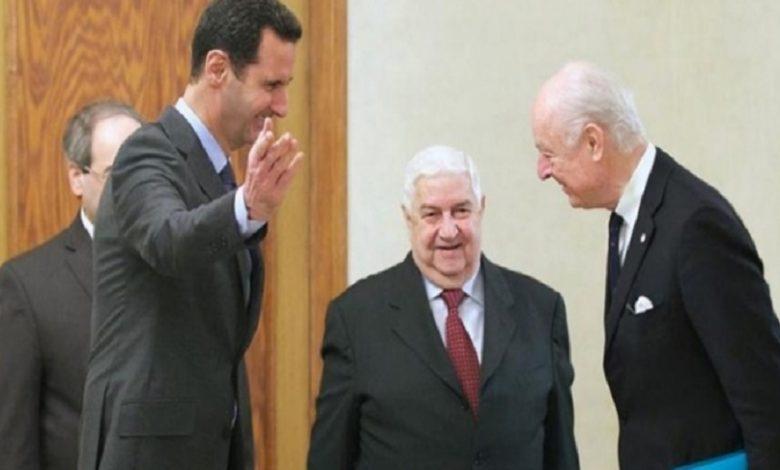 بشار الأسد في موقف حرج