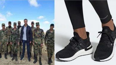 صورة بينما يتضور السوريون جوعاً.. بشار الأسد يرتدي حذاءً بقيمة مجموع رواتب 10 موظفين..!
