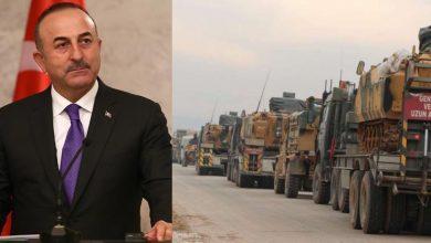 """صورة """"جاويش أوغلو"""" يكشف عن ترتيبات جديدة بشأن إدلب.. وتعزيزات تركية ضخمة تدخل الشمال السوري"""
