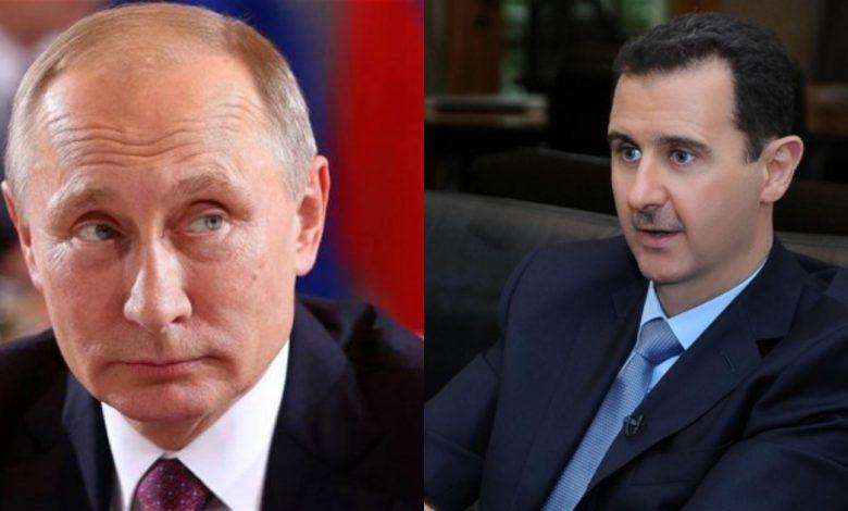 روسيا تنتقد بشار الأسد