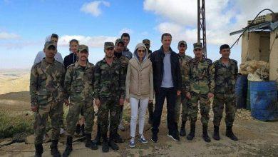 """صورة موقع روسي يكشف سبب الظهور الأخير لـ """"بشار الأسد"""" وزوجته ويحدد مكان التقاط الصور"""