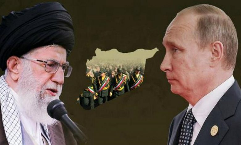 نهاية علاقة روسيا وإيران في سوريا