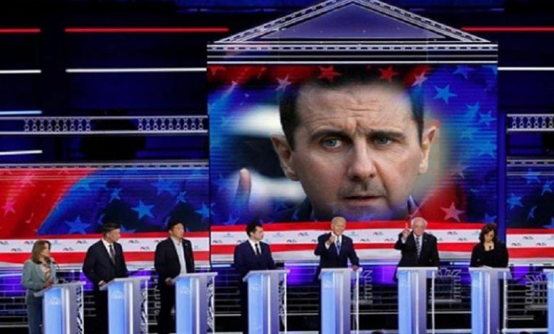 تعامل واشنطن مع بشار الأسد