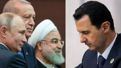 """صورة بعد القمة الثلاثية.. كاتب تركي: مرحلة جديدة في سوريا ستبدأ بـ """"رحيل بشار الأسد""""..!"""
