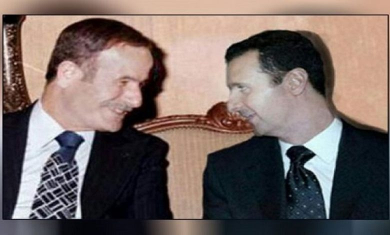 حافظ الأسد محمد مخلوف