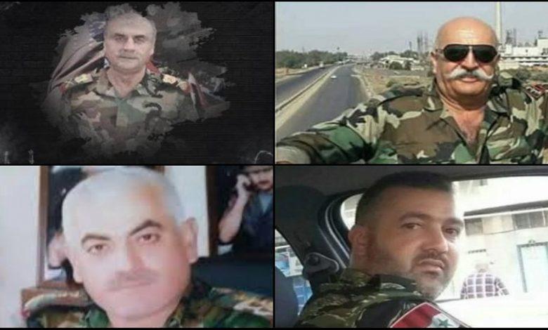 تصفية ضباط مقربين من بشار الأسد