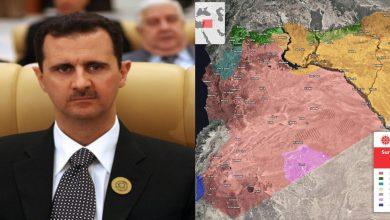 صورة تركيا تنشر خريطة جديدة لتوزع السيطرة في سوريا.. ورسالة مفاجئة من رئيس عربي إلى بشار الأسد.. هذا مضمونها..!