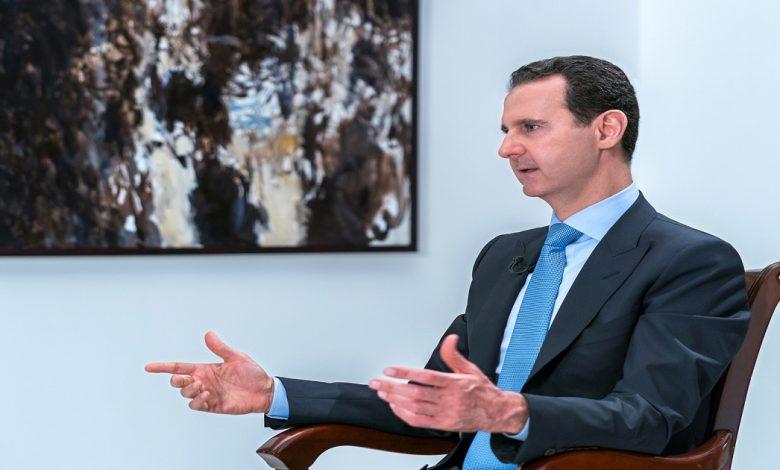 قيمة بشار الأسد