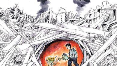 """صورة صحيفة فرنسية تكشف عن الهدف الحقيقي وراء فرض """"قانون قيصر"""" ضد نظام الأسد..!"""