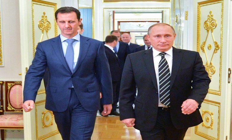 تخلي بوتين عن بشار الأسد