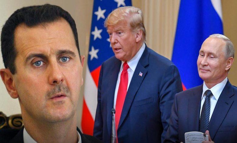 موقف روسيا من الحل في سوريا