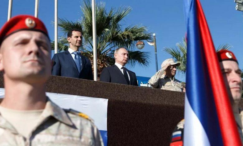 روسيا والحل السياسي في سوريا