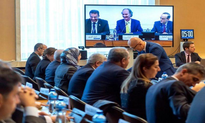 اجتماع اللجنة الدستورية