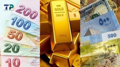 صورة الذهب يرتفع إلى مستويات قياسية جديدة واستقرار في سعر صرف الليرتين السورية والتركية