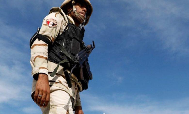 قوات مصرية شمال سوريا
