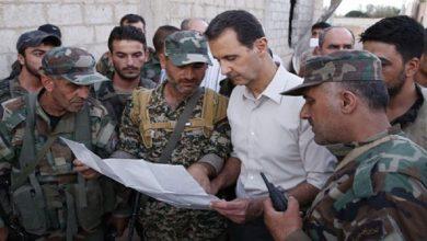 صورة بشار الأسد يدعو جيشه لإخراج أمريكا وتركيا من سوريا.. هذا ما قاله..!
