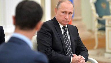 صورة بشار الأسد يمنح روسيا أراضي جديدة ومساحة بحرية لتوسيع نفوذها في سوريا..!