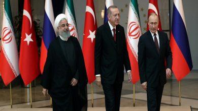 صورة بيان روسي تركي إيراني مشترك بشأن سوريا بعد محادثات في جنيف..!