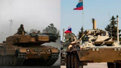 صورة حشود تركية كبيرة وأخرى لنظام الأسد وروسيا إلى شمال سوريا.. هل هي تحضيرات للمواجهة النهائية في إدلب..؟