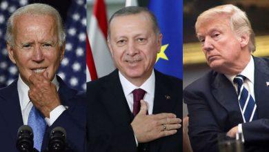 """صورة ترمب مخاطباً بايدن: لا يمكنك الوقوف في وجه """"لاعب شطرنج من طراز عالمي"""" مثل أردوغان..!"""
