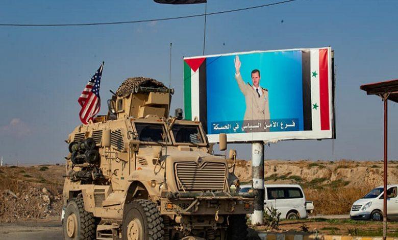 ترمب بشار الأسد