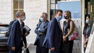 """صورة تعليق محادثات اللجنة الدستورية والوفود الثلاثة إلى الحجر الصحي.. هل تعمد نظام الأسد إرسال """"كورونا"""" إلى جنيف؟"""