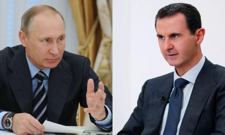 روسيا الحل السياسي في سوريا