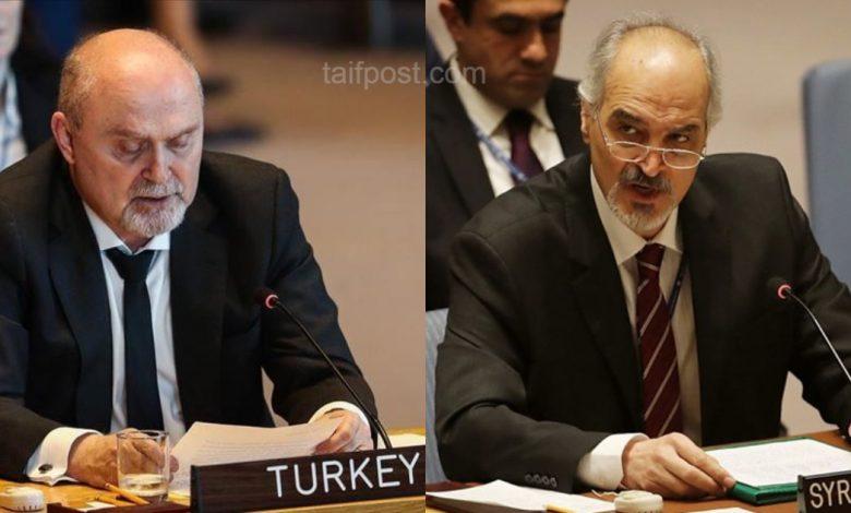سجال بين ممثلي تركيا ونظام الأسد