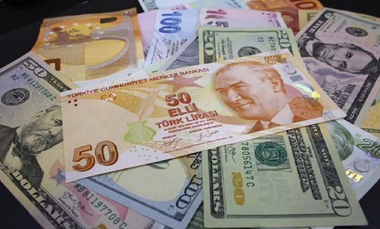 سعر الدولار والذهب في تركيا
