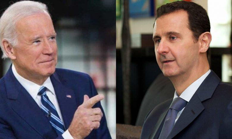 سياسة جو بايدن في سوريا
