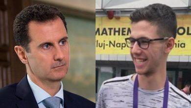 """صورة صحيفة فرنسية تؤكد وجود ترتيبات لتوريث """"حافظ بشار الأسد"""" الحكم في سوريا خلفاً لوالده..!"""