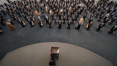 """صورة بالفيديو.. تفاصيل الوعكة الصحية التي تعرض لها """"بشار الأسد"""" أثناء كلمة له أمام البرلمان (شاهد)..!"""