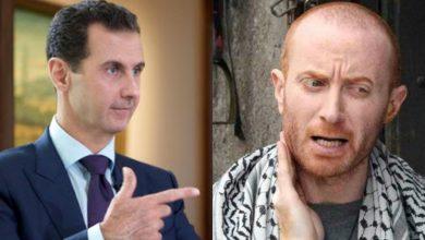 """صورة """"النمس"""" مصطفى الخاني ينتقد حكومة الأسد.. لما لا يتجرأ وينتقد بشار الأسد نفسه..؟"""