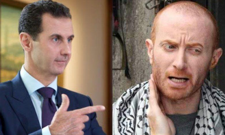مصطفى الخاني ينتقد حكومة الأسد