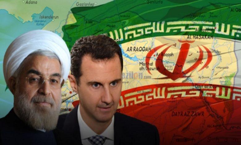 إيران بشار الأسد