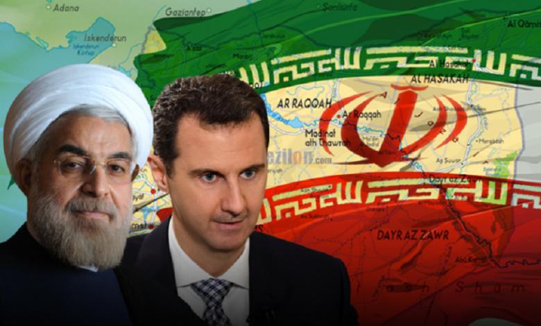 إيران رسالة عاجلة إلى بشار الأسد