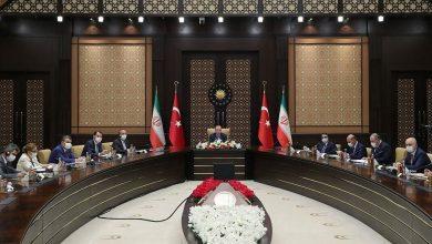 صورة اجتماع بين أردوغان وروحاني.. وبيان تركي إيراني مشترك بشأن إمكانية الحل السياسي في سوريا