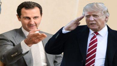 """صورة النظام السوري يرد على تصريحات ترمب بخصوص تصفية """"بشار الأسد""""..!"""