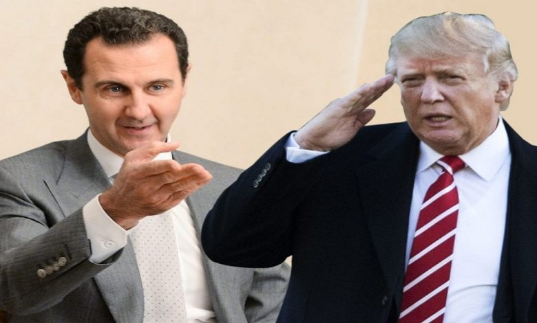 النظام السوري يرد على تصريحات ترمب