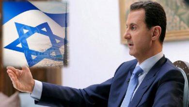 """صورة مؤشرات على التحاق """"بشار الأسد"""" بقطار التطبيع مع إسرائيل في هذا التوقيت..!"""
