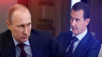 """صورة صحيفة روسية تتحدث عن قرار هام اتخذه """"بوتين"""" بشأن """"بشار الأسد""""..!"""