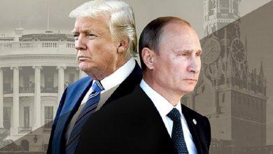 """صورة صحيفة أمريكية تدعو """"ترمب"""" إلى لجم روسيا في سوريا وتحذره من طموحات """"بوتين"""" في المنطقة!"""