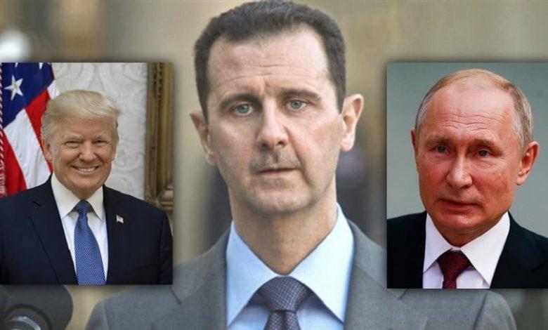 روسيا أمريكا نظام الأسد